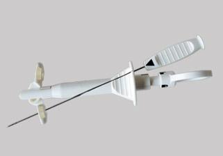 一次性使用腹腔镜线结推送缝合器